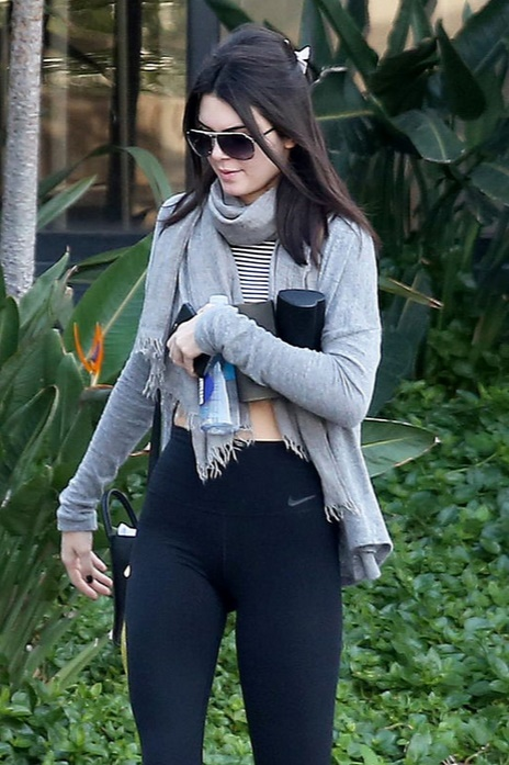 Kendall Jenner leave a gym in Calabasas   Flickr - Photo Sharing!