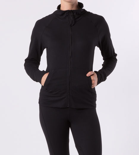 LORI ZIP UP JACKET (without a hood)