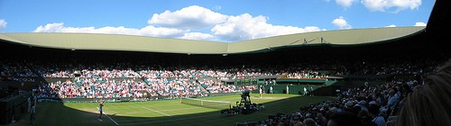 Centre Court - where we hope to see Andy Murray take his second title this year