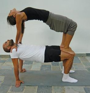 yoga poses you can try with a partner