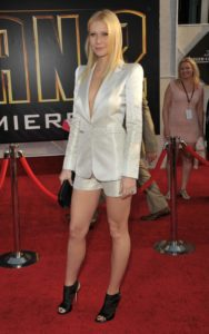 Gwyneth Paltrow at Iron Man Premiere