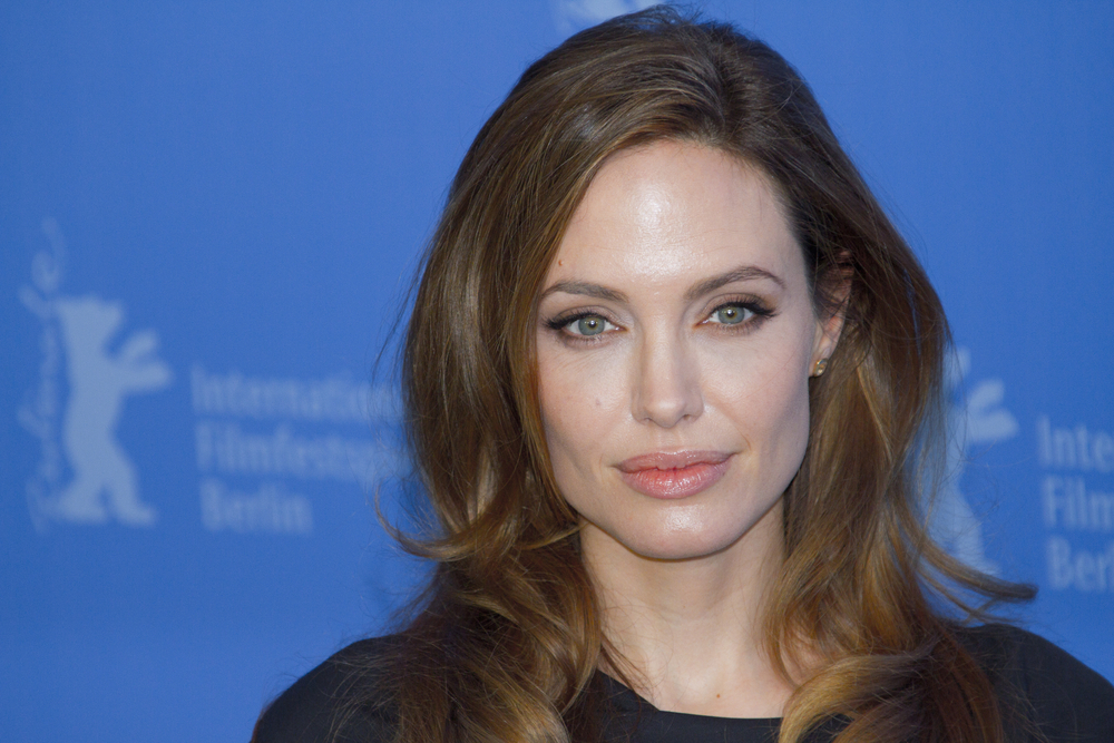 Angelina Jolie attends the 'In The Land Of Blood And Honey' Photocall during of the 62nd Berlin Film Festival at the Grand Hyatt