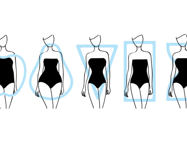 the different body types of women